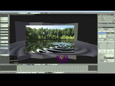 Blender 2.68 Tutorial - 2D to 3D and the Wave Modifier - YouTube