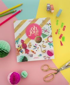 One of our favorite pinners, @ohjoy, has a new book and we have an exclusive DIY craft for you! The book is full of the chicest decorating and entertaining ideas. Get ready to beautify your home, add panache to your parties and just generally get happy.