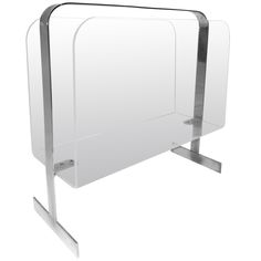 Milo Baughman Lucite and Chrome Magazine Rack | From a unique collection of antique and modern magazine racks and stands at http://www.1stdibs.com/furniture/more-furniture-collectibles/magazine-racks-stands/