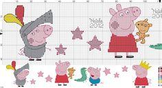 SCHEMI PUNTO CROCE: SCHEMA PEPPA PIG PUNTOCROCE