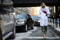 On the Streets of New York Fashion Week Fall 2015 - New York Fashion Week Fall 2015 Street Style Day 4-Wmag