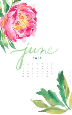 peony-2017-june-calendar-phone-wallpaper.jpg 461×736 пикс
