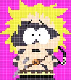 Tweek Barbarian - South Park Stick of Truth pattern