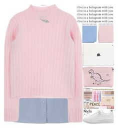 """""""love every inch of yourself"""" by alienbabs ❤ liked on Polyvore featuring Meli Melo, women's clothing, women's fashion, women, female, woman, misses, juniors, clean and organized"""