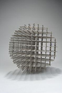 Sphère-trame, 1962 | François Morellet