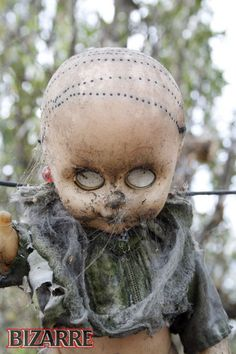 Mexico's Island of the Dolls--Holy Bejeezus, I'm gonna have nightmares.