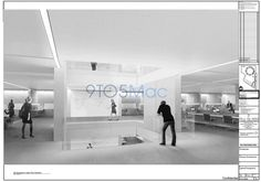 Leaked renderings of Apple Campus 2 interior depict futuristic, Apple Store-like design