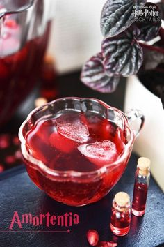 Amortentia and other Harry Potter-themed cocktail recipes - perfect for your Halloween party drinks!