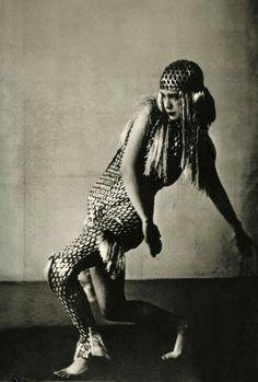 "Lucia Joyce dancing at ""Bal Bullier"" in Paris, May 1929"