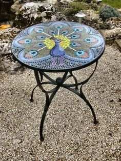Mosaic Table Design