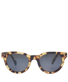 Illesteva Brown Point Tortoise Sunglasses | Accessories | Liberty.co.uk