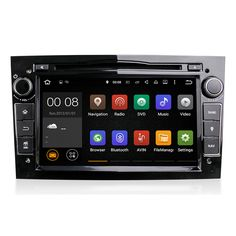 7 Car DVD CD Stereo Android 4CORE GPS Navigation TPMS For Opel Antara Bluetooth