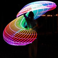 Trip The Light Fantastic, 21 Years Old, Edm, Light Up, Hula Hooping, Outdoor, Free Spirit, Rave, Electric