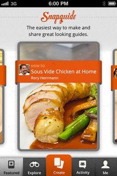 Snapguide : application mobile pour créer des tutoriels ou guides multimédia