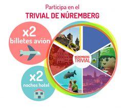 Sorteo de un viaje a Nuremberg para 2 personas con avión y hotel de Viajes Alemany #sorteo #concurso http://sorteosconcursos.es/2016/07/sorteo-de-un-viaje-a-nuremberg-con-avion-y-hotel/