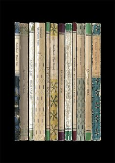 Radiohead 'The Bends' Album As Books Poster by StandardDesigns, £12.50
