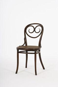 1885-7 bentwood chair #2, Thonet, Vienna, Austria, beech, 35t, 5-2.