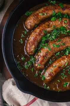 Bangers and Mash with Beer and Onion Gravy by simpleprovisions