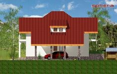 Proiect Casa Stela - PROIECTE DE CASE. Arhitectura. Rezistenta. Instalatii Cabin, House Styles, Projects, Home Decor, Small Houses, Homemade Home Decor, Blue Prints, Cabins, Cottage