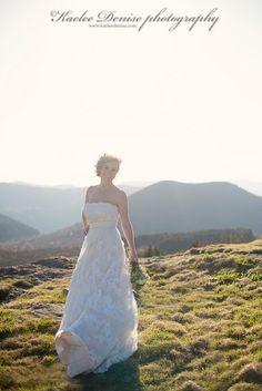 Bridal Portraits  photo by: Kaelee Denise Photography Western North Carolina