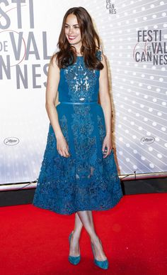 Berenice Bejo in Elie Saab at the 'Zulu' 2013 Cannes Film Festival Premiere and Closing Ceremony.