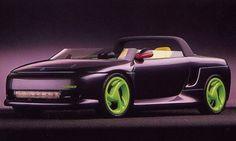 1989 Plymouth Speedster concept Mopar Girl, Plymouth Valiant, Plymouth Cars, Conceptual Art, Custom Cars, Concept Cars, Cars Motorcycles, Dream Cars, Bike