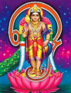 Skanda Shasti 2019 celebrates the birth of Skanda, the powerful son of Lord Shiva. Rituals to the deity on the day eliminate evil, and bring wellness to you. Shiva Art, Shiva Shakti, Hindu Art, Lord Ganesha, Lord Shiva, Ganesha Art, Lord Vishnu, Hindu Deities, Hinduism