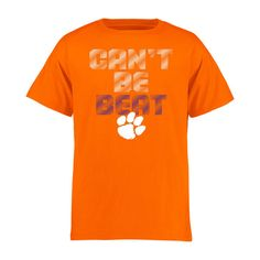 Clemson Tigers Youth Can't Be Beat T-Shirt - Orange - $17.99
