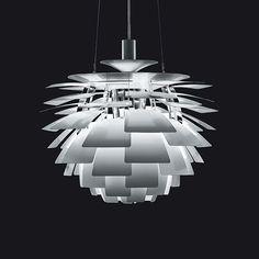 Artichoke Lamp by Poul Henningsen, 1958.