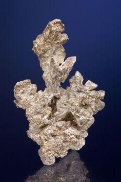 Silver, Mohawk Mine, Mohawk, Keweenaw Co., Michigan, USA, Small Cabinet, 8.5 x 4.8 x 3.5 cm, A sizable,…