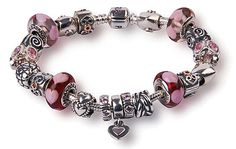 pandora charm bracelet | information about Pandora's beautiful collection of charm bracelets ...