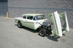'57 Ford gasser with a SOHC 427