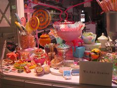 Candy Store Window by tdoginsf, via Flickr