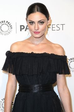 beauty queen: phoebe tonkin from the Originals wearing makeup by Lauren Anderson. Avon Glimmersticks in brown copper, Mega Effects Mascara in black and Ultra Color Absolute in Red Rose. shop this look at www.youravon.com/coloradoriver