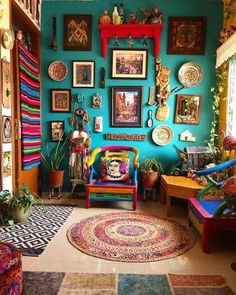 Mexican Home Decor, Indian Home Decor, Diy Home Decor, Mexican Bedroom Decor, Mexican Kitchen Decor, Mexican Restaurant Decor, Indian Wall Decor, Boho Living Room, Living Room Decor