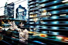 Moments of serenity and quiet melancholy among the hustle and bustle of Tokyo city streets