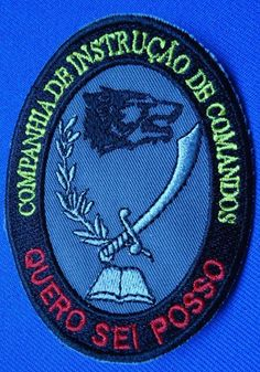 PORTUGAL PORTUGUESE COMMANDOS COMANDOS INSTRUCTION UNIT PATCH