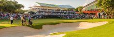 El OHL Classic at Mayakoba, hizo historia en el mundo del golf al ser el primer torneo del PGA TOUR jugado fuera de Estados Unidos y Canadá, en 2007. Hoy en día, el OHL Classic at Mayakoba es el único evento del PGA TOUR en México y es reconocido como uno de los mejores en el PGA TOUR por golfistas profesionales y espectadores. 10 - 16 Noviembre 2014  #OhlClassic #Mayakoba #ElCamaleonClubDeGolf #RivieraMaya  Source: http://www.ohlclassic.com.mx/tournament-info/