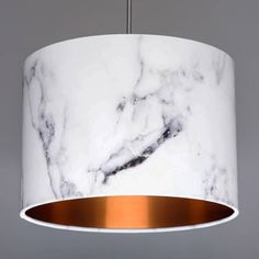 I've just found Carrara Marble Lampshade Choice Of Metallic Linings. Drum lampshade, handmade with a Carrara marble effect fabric and with a choice of brushed copper, silver and gold metallic linings. Rose Gold Room Decor, Rose Gold Rooms, Gold Bedroom Decor, Bedroom Ideas, Rose Gold Bedroom Accessories, Bedroom Lampshade, Marble Room Decor, Gold Lamp Shades, Rose Gold Lamp Shade