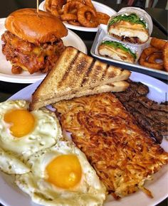 Breakfast🥪🍔🍳🥓 discovered by tropicalqueen on We Heart It Big Meals, No Cook Meals, Tumblr Breakfast, Good Fried Chicken, Fire Food, Food Goals, Mediterranean Recipes, Aesthetic Food, Food Cravings