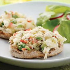 Crab Salad Melts- these look really good!