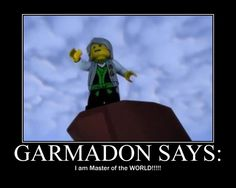 Garmadon is madness