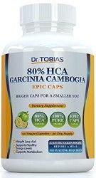 Dr. Tobias Garcinia Cambogia – 80% HCA – Supports Weight Loss
