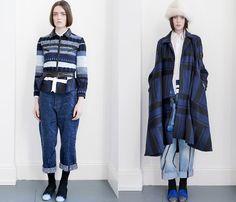(2) James Long - London Fashion Week - Denim & Jeanswear 2013-2014 Fall Winter Womens Runways II