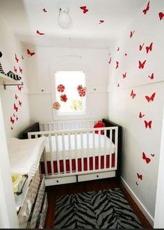 small nursery using space well | Small nursery ideas 21 Small Nursery Ideas:Decorating Ideas for a ...