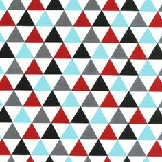 Love this new triangle print from Ann Kelle  -> Remix - Triangles in Celebration
