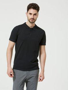 Selected Homme Klassisches Poloshirt für 24,99€. Regular fit, 95 % Baumwolle, 5 % Elastan, Geteilter Kragen bei OTTO