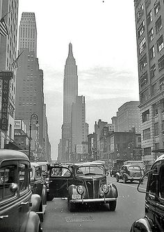 U.S. 34th Street NYC, 1938 // by Don O'Brien, released on Flickr under the Creative Commons Attribution License