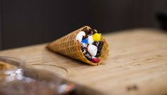 Load up these warm s'mores waffle cones with chocolate, marshmallows, candy, fruit and more! They only take 7 minutes to make!