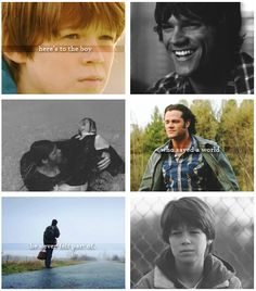 """Here's to the boy who saved a world he never felt a part of. That is powerful because it is so true."""" or """"I just want to be normal."""" He really feels like a screw up and a failure. Castiel, Winchester Supernatural, Supernatural Quotes, Sherlock Quotes, Watson Sherlock, Sherlock John, Sherlock Holmes, Winchester Boys, Super Natural"""